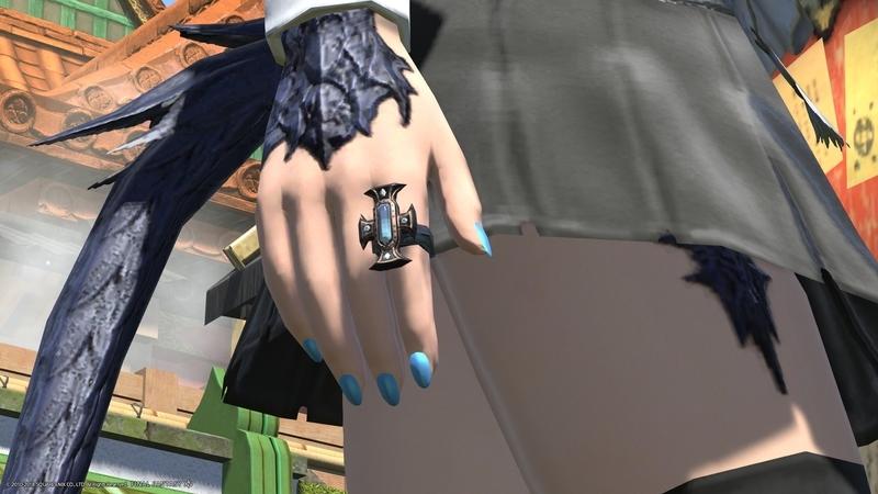 【FF14】初!ダイヤ装備!