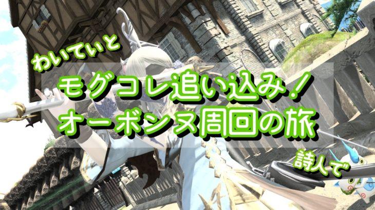 【FF14】モグコレ追い込み!オーボンヌ周回の旅