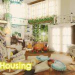 【FF14ハウジング】バラと光の憩いハウス